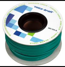 ROLLMC103-6 Gitár kábel, zöld