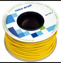 ROLLMC103-3 Gitárkábel, sárga