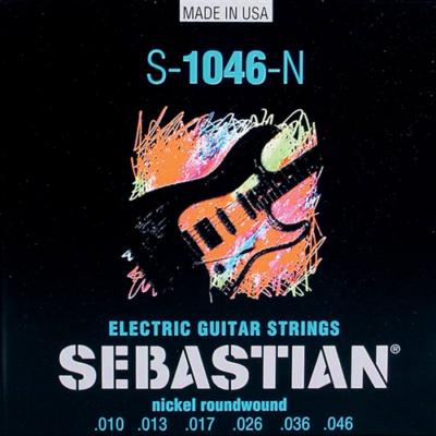 S-1046-N Sebastian elektromos gitár húrkészlet