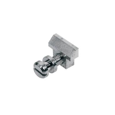 S-160-N Húrlábnyereg, LP-model, rugóval és csavarral, fém, 6db