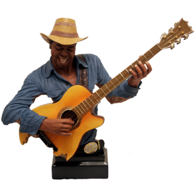 BJ-24-3 Mellszobor gitáros