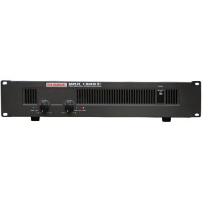 MAX1500 Plus Végerősítő, 2x450W/4Ohm