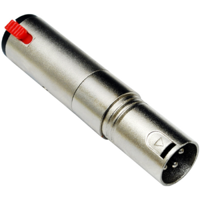 ADA-005 6,3 Jack(m) - XLR(p) átalakító, sztereó