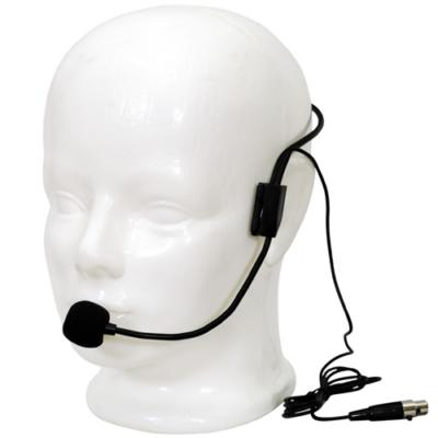 LS-970 Fejmikrofon mini XLR, fekete