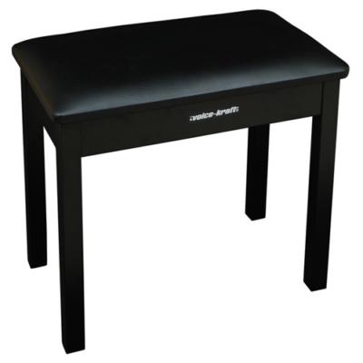KB019B black Zongora szék