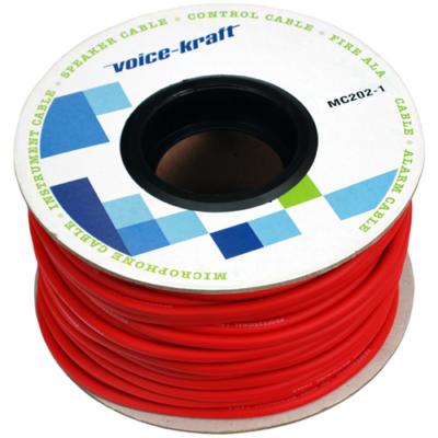 ROLLMC202-1 Mikrofon kábel, piros