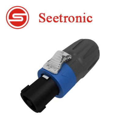 SL4FX-N Speakon lengő dugó, 4 pólusú, univerzális kábelrögzítővel