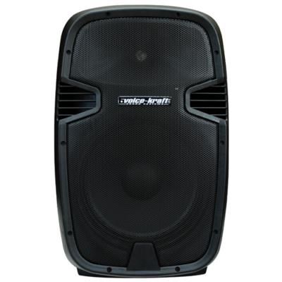 """LK-1679-2-12B Aktív műa. hangfal,12"""", 200/300W FM rádióval, MP3, távirányító, Bluetooth, passzív hangfal kimenet"""