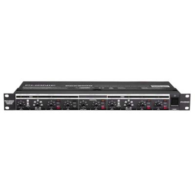 PCX3000 Aktív crossover, sztereó 2 utas / monó 3 utas, külön subwoofer kimenettel