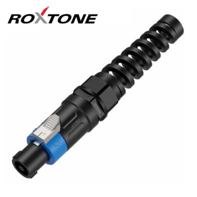 RS4FX-N Speakon lengő dugó, 4 pólusú, törésgátlóval
