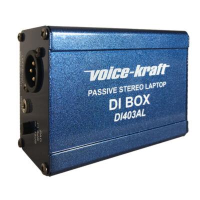 DI403AL Passzív Sztereó Di-box Mobil eszközökhöz