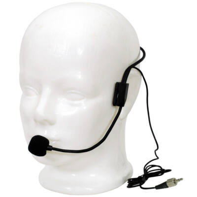LS-970 Fejmikrofon jack, fekete